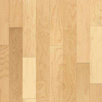 Prestige Natural Maple 3/4 in. Thick x 5 in. Wide x Random Length Solid Hardwood Flooring (23.5 sq. ft. / case)