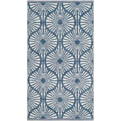 Montauk Navy/Ivory 2 ft. 3 in. X 3 ft. 9 in. Area Rug