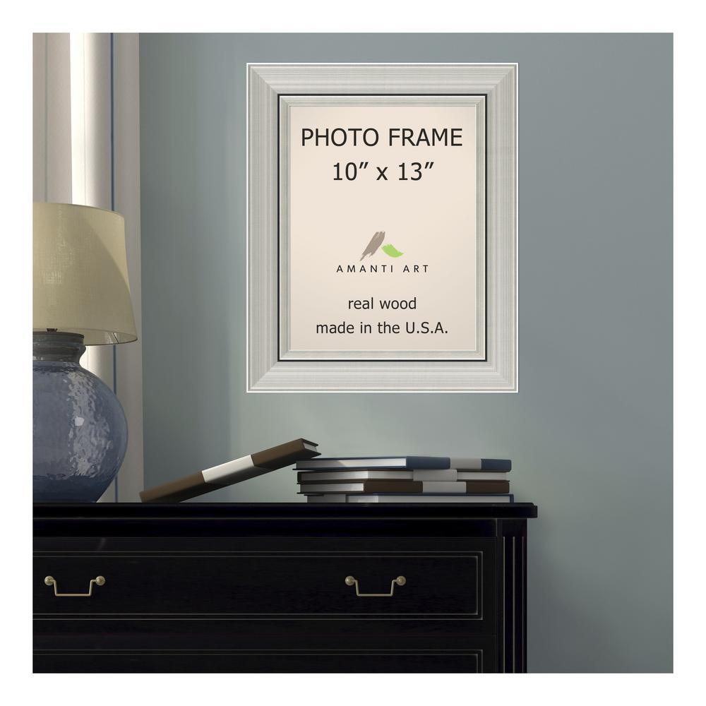 Yosemite Home Decor Silver Blocks Mirror Frame MINT021