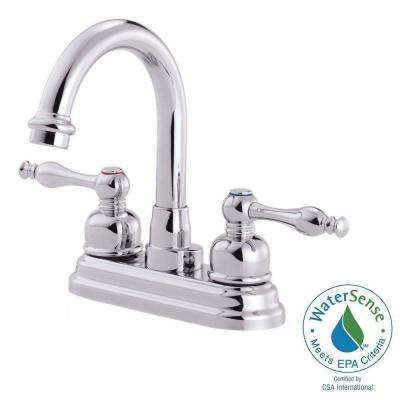 Sheridan 4 in. Centerset 2-Handle Bathroom Faucet in Chrome