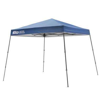 64 ft. x 8 ft. x 8 ft. Midnight Blue Straight Leg Pop-Up Instant Canopy