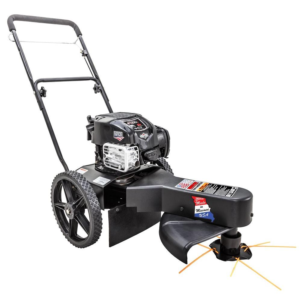 Swisher 22 in. 6.75 Gross Torque 163cc Walk-Behind Trim-N-Mow Plus Gas String Trimmer