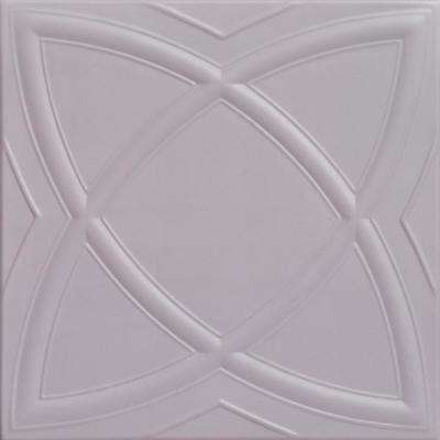 Elliptic Illusion 1.6 ft. x 1.6 ft. Foam Glue-up Ceiling Tile in Inspired
