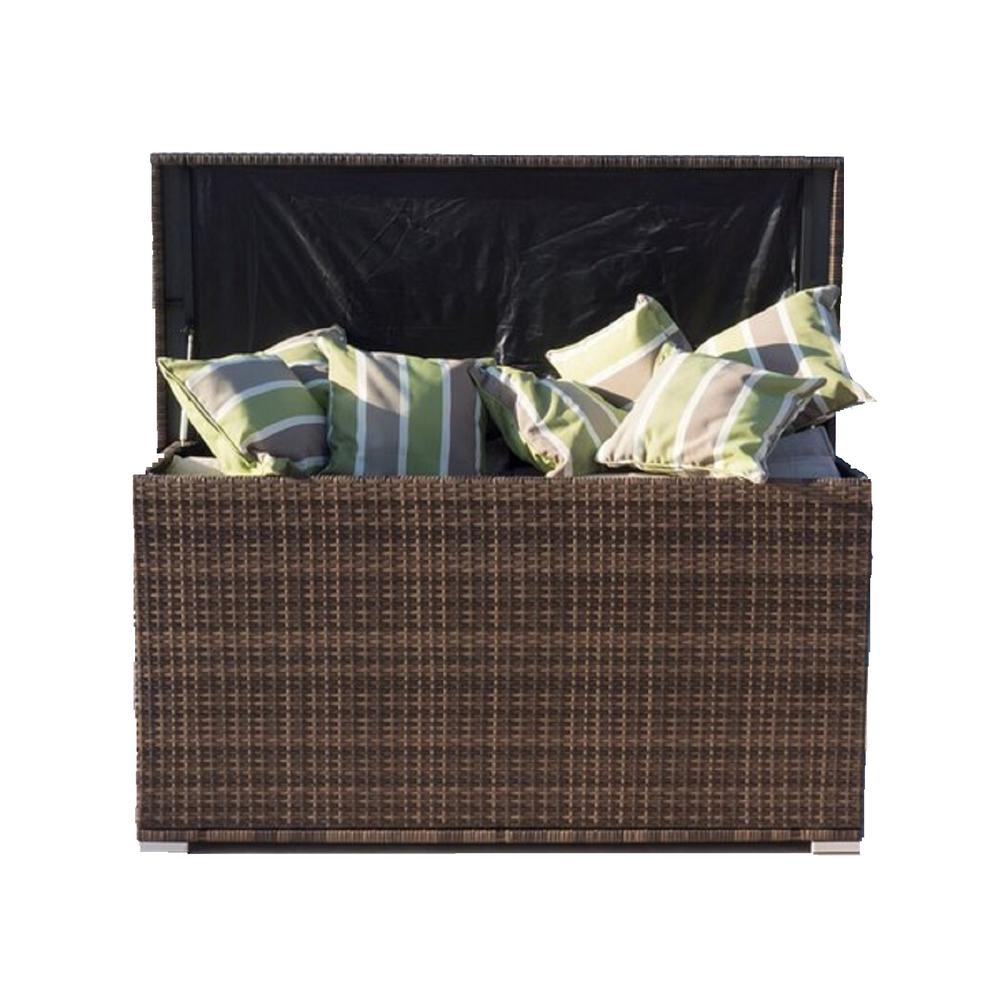 Direct Wicker Anita 230 Gal Resin Storage Deck Box