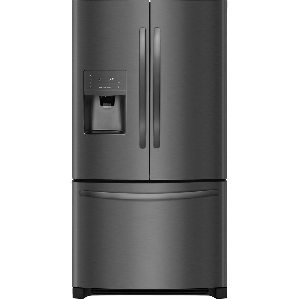 Frigidaire 22 Cu Ft French Door Refrigerator In Black