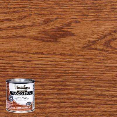 8 oz. American Walnut Premium Fast Dry Interior Wood Stain (4-Pack)
