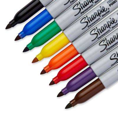 Fine Point Marker Assorted Colors Set (8-Piece Carded)