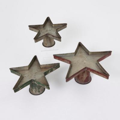 Metal Star Plant Stand (Set of 3)