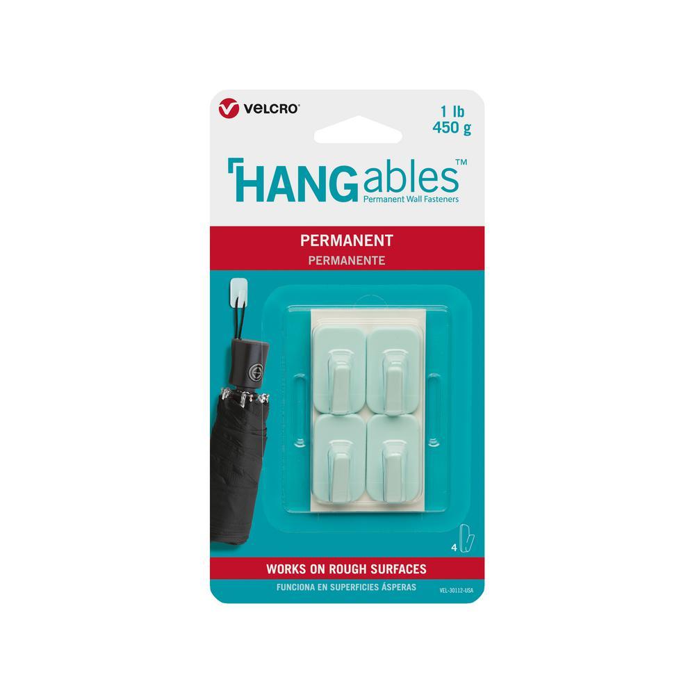 HANGables Permanent Micro Hook in Aqua (4-Count)