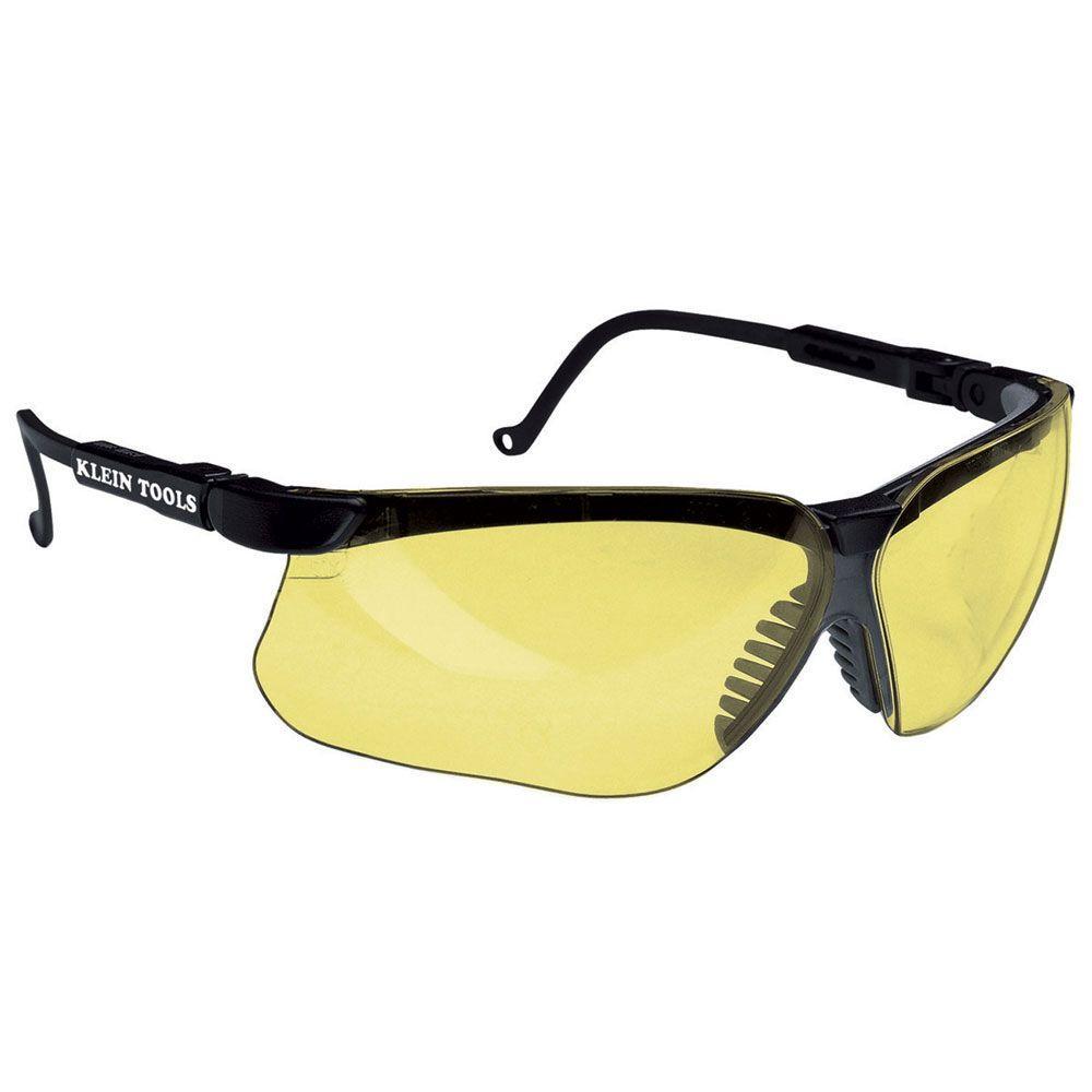 Amber Protective Eyewear Lens