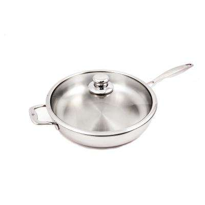 5.3 Qt. Premium Clad Saute Pan with Lid