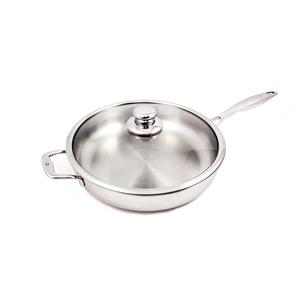 5.3 Qt. Premium Clad Saute Pan with Lid