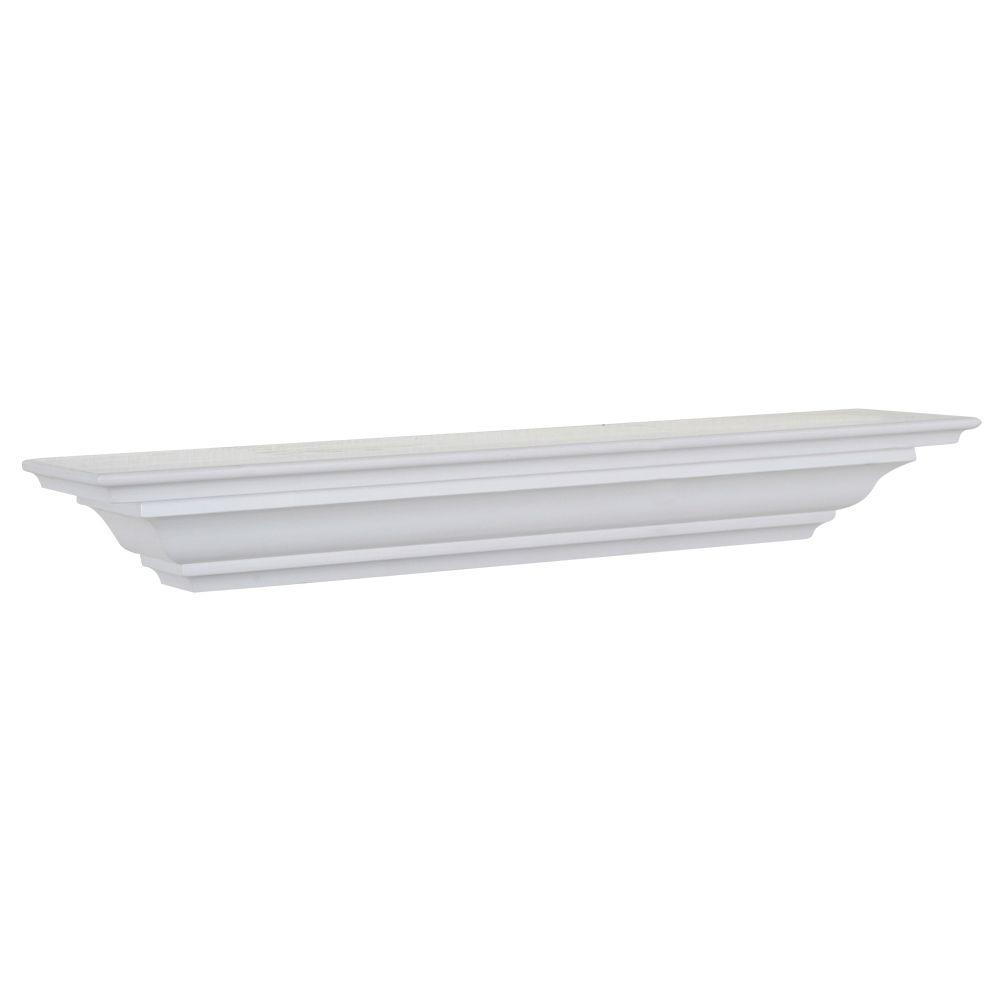 The Magellan Group 5-1/2 in. D x 24 in. L Crown Moulding Shelf