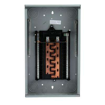 PL Series 125 Amp 20-Space 40-Circuit Main Lug WireGuide Load Center