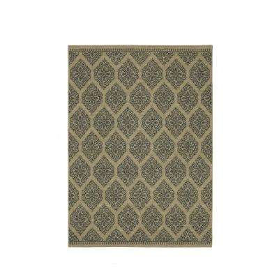 Taurus Beach Grey 4 ft. x 6 ft. Area Rug