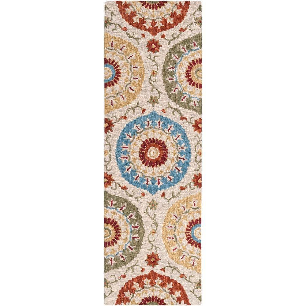 Artistic Weavers Giovanni Ivory 2 ft. 6 in. x 8 ft. Rug Runner
