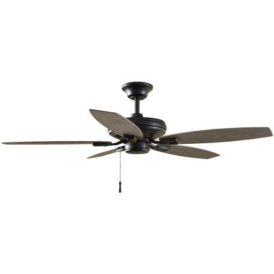 North Pond 52 in. Indoor/Outdoor Matte Black Ceiling Fan