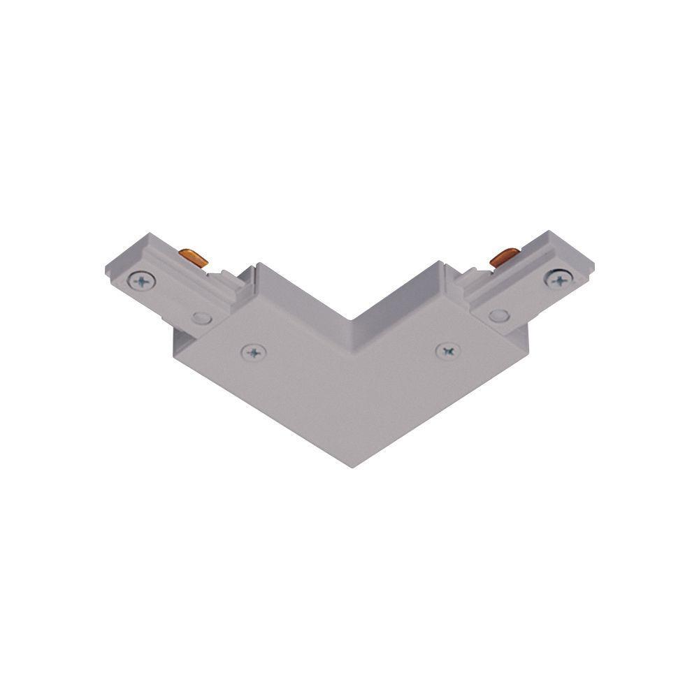 Juno Trac-Lites Nickel Adjustable Connector