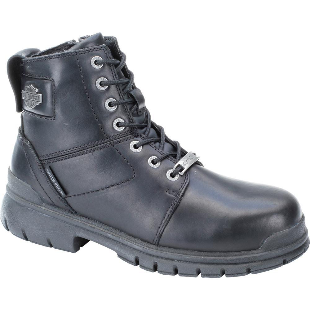 7e79678b0fb Harley-Davidson Gage Men's 8.0 M Black Composite Toe Boot