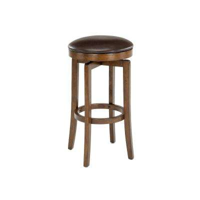 Brendan 25 in. Brown Backless Counter Stool