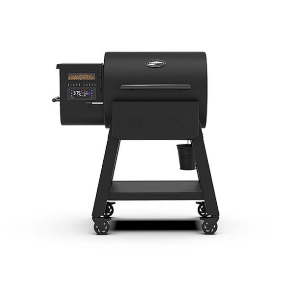 800 Black Label Pellet Grill with WiFi Control in Black