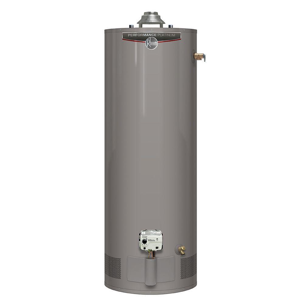 Rheem Performance Platinum 40 Gal. Tall 12 Year 40,000 BTU Natural Gas Tank Water Heater -  627915