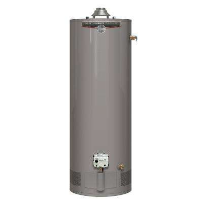 Performance Platinum 40 Gal. Tall 12-Year 40000 BTU Natural Gas Tank Water Heater