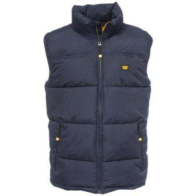 Arctic Zone Men's Tall-2X-Large Navy Polyester Vest