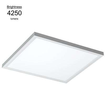 2 ft. X 2 ft. White Commercial Integrated LED 5000K Dimmable Drop Ceiling Flat Panel Troffer Light