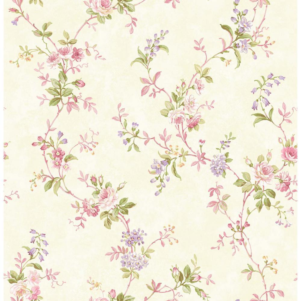 Isabella Pink Trail Wallpaper