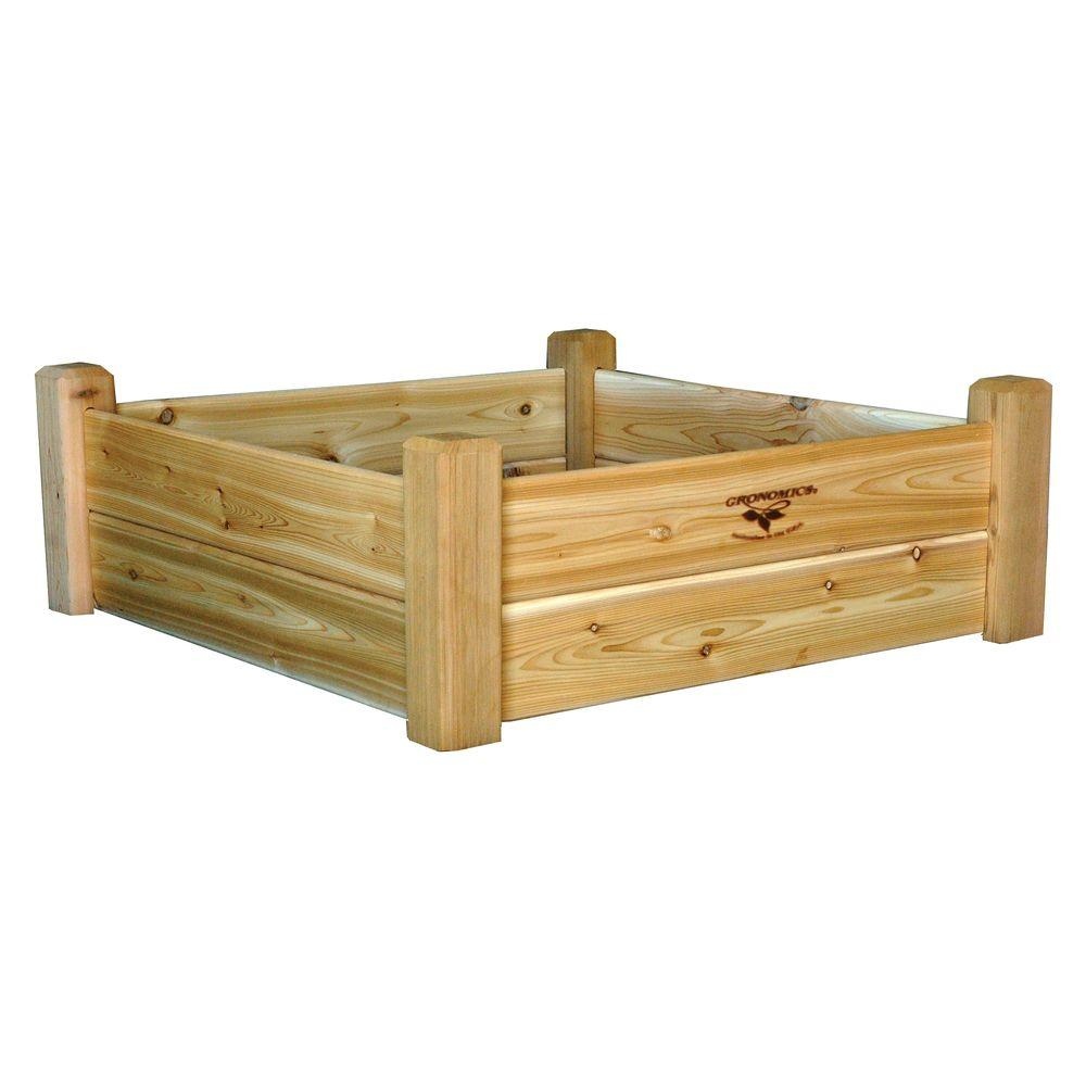 34 in. x 34 in. x 13 in. Raised Garden Bed