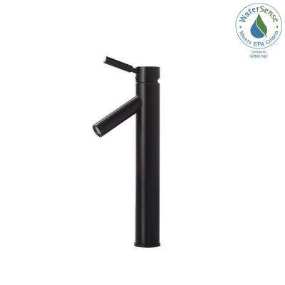 Sheven Single Hole Single-Handle Vessel Bathroom Faucet in Oil Rubbed Bronze
