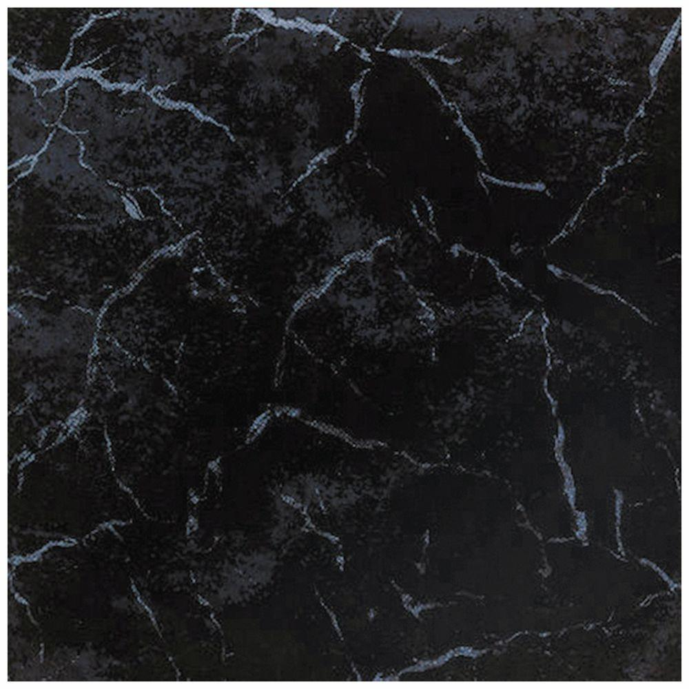 Merola Tile New Oton Negro 13-5/16 in. x 13-5/16 in. Ceramic Floor and Wall Tile (12.31 sq. ft./case)-DISCONTINUED