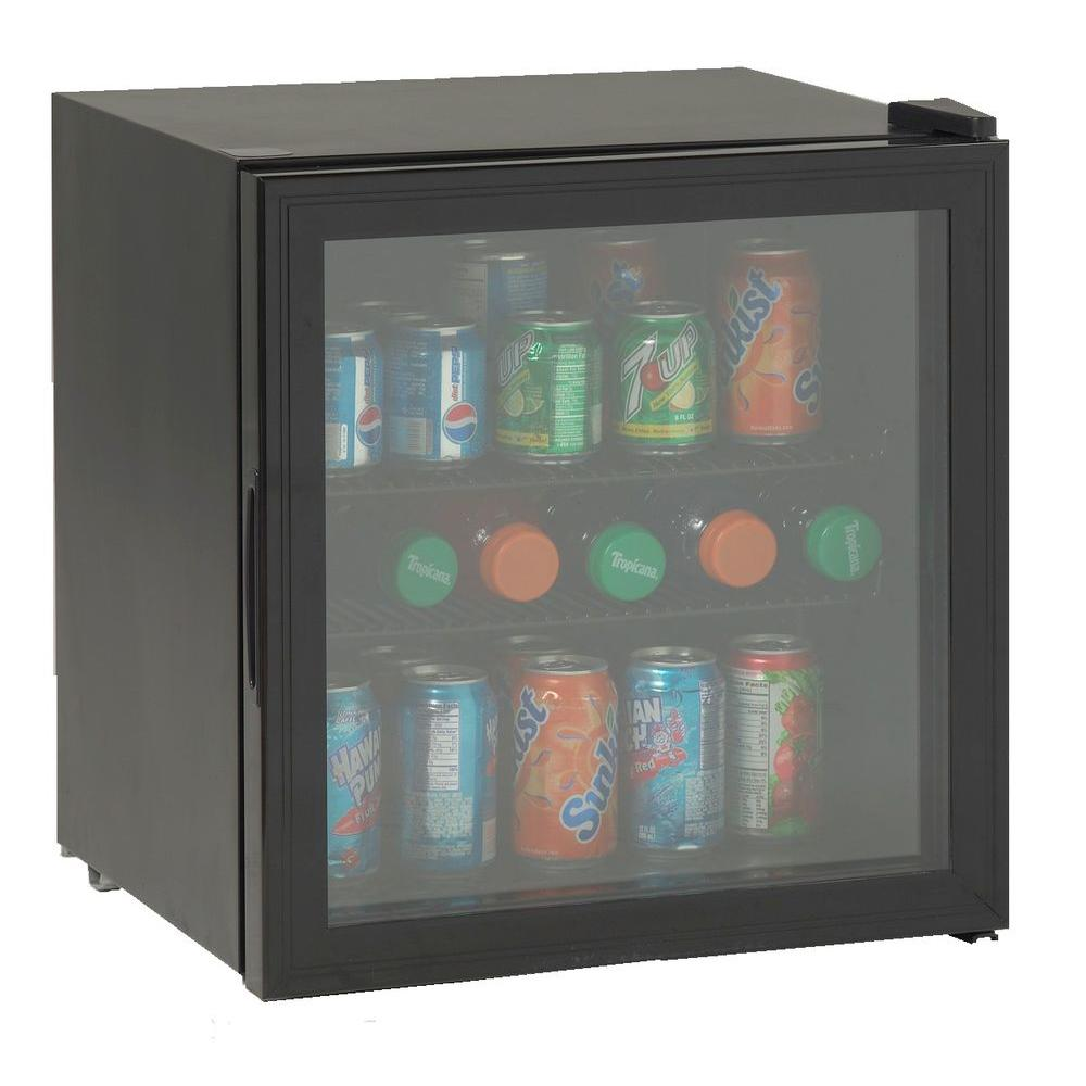 Avanti 1.9 cu. ft. Beverage Cooler in Black-DISCONTINUED