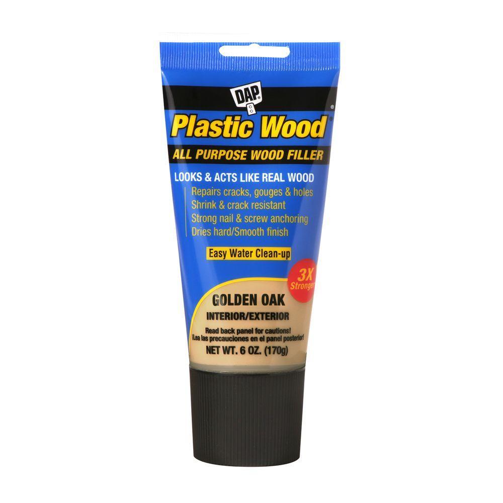 DAP Plastic Wood 3.7 oz. Dark Walnut Wood Putty (6-Pack)-7079821255 ...