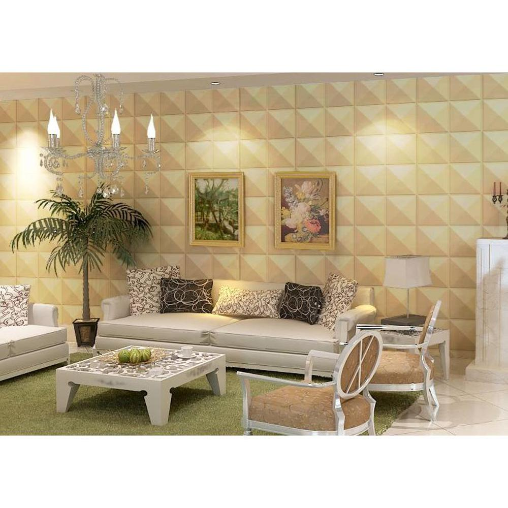 Donny Osmond Home 19.6 in. x 19.6 in. Self-Stick Star Pattern 3D ...