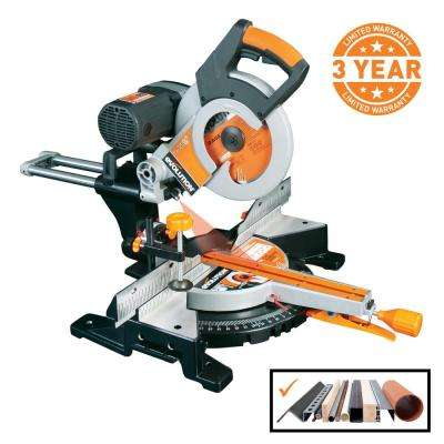 15 Amp 10 in. Multi-Material Double Bevel Sliding Miter Saw