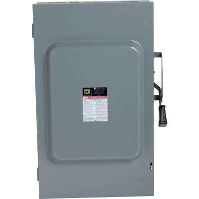 200 Amp 240-Volt 3-Pole Non-Fuse Indoor General Duty Safety Switch