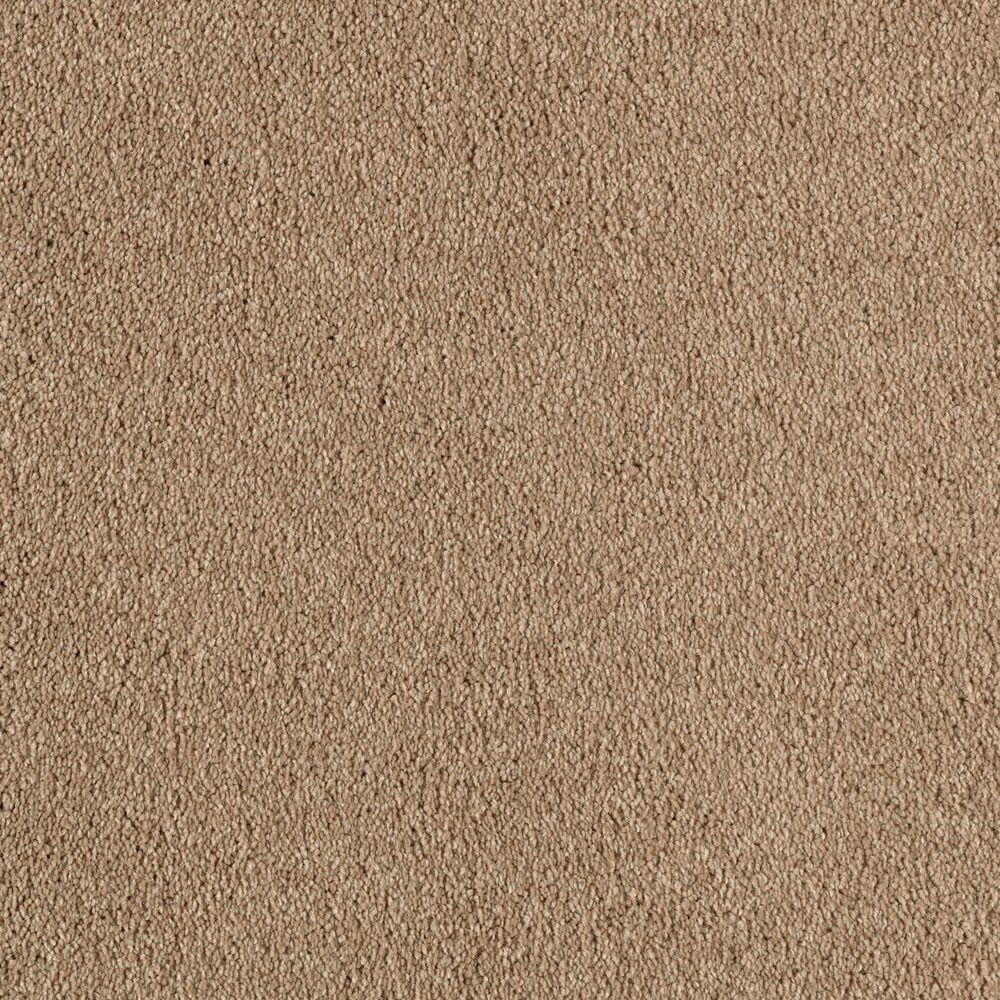 Platinum Plus Stunning - Color Burma Teak 12 ft. Carpet