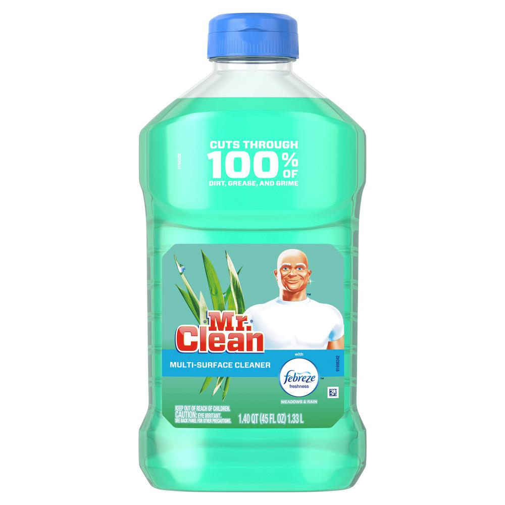 Mr. Clean 45 oz. Meadows and Rain Scent Multi-Surface Cleaner with Febreze