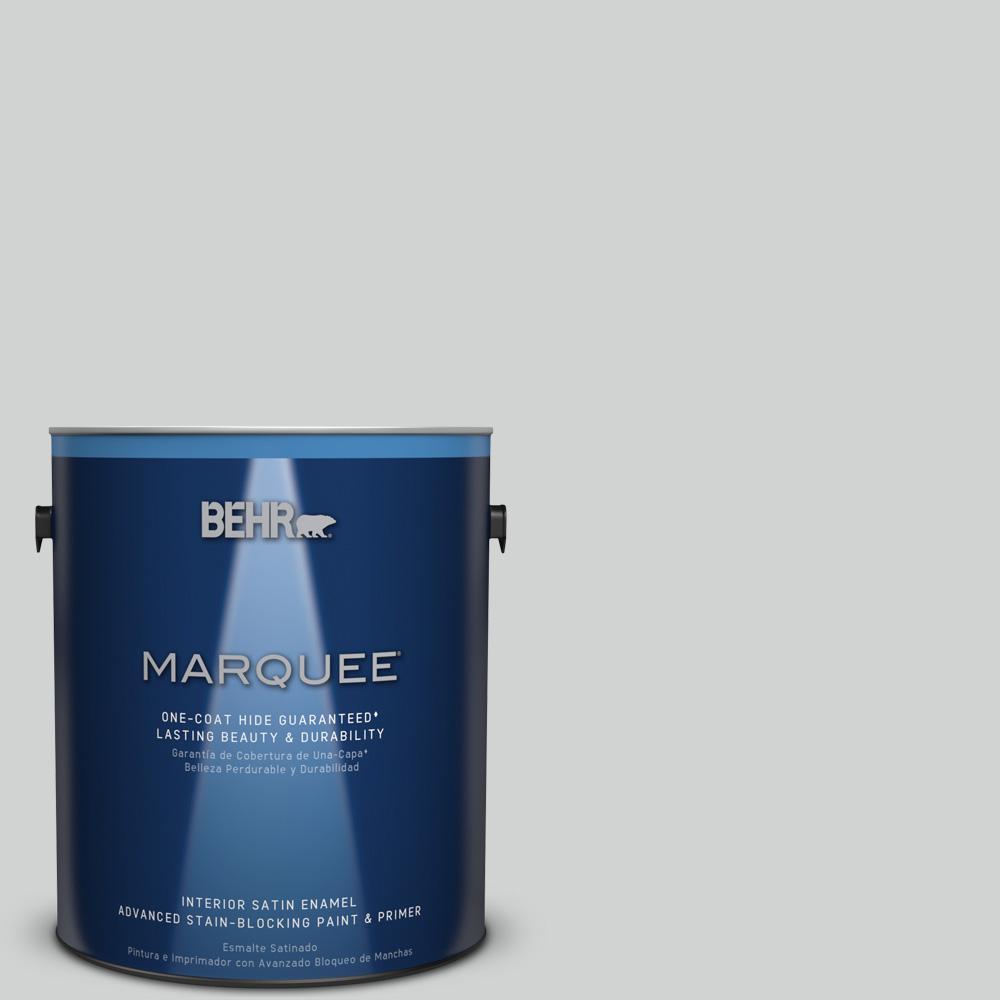 1 gal. #PPU26-11 Platinum Satin Enamel Interior Paint