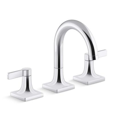 Venza 8 in. Widespread 2-Handle Bathroom Faucet in Polished Chrome