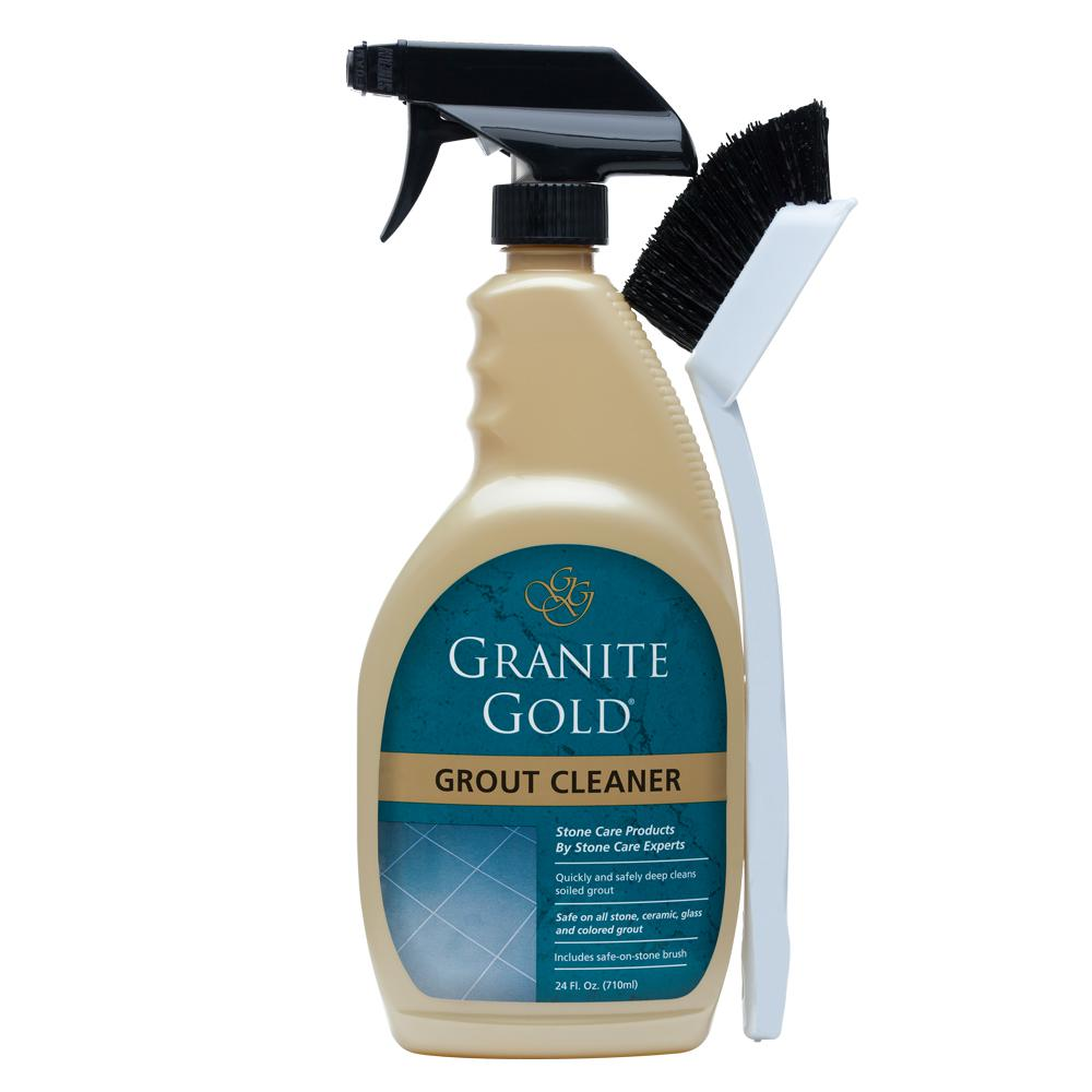 Granite Gold 24 oz. Grout Cleaner with Brush-GG0371 - The Home Depot