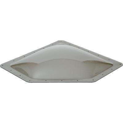 Standard RV 24 in. x 12 in. x 4 in. Skylight