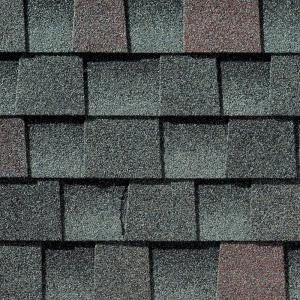 GAF Timberline HD Williamsburg Slate Lifetime Architectural Shingles (33 3  sq  ft  per Bundle)-0680925 - The Home Depot
