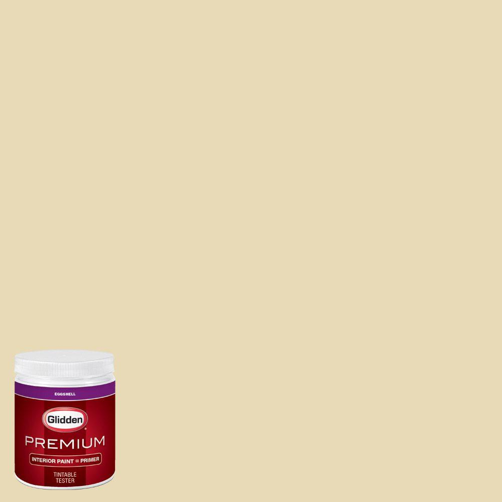 Glidden Premium 8 Oz Hdgy61d Brocade Cream Eggshell Interior Paint Sample With Primer Hdgy61dp