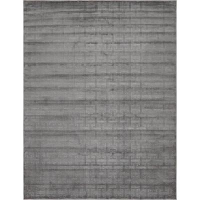 Uptown Collection by Jill Zarin Park Avenue Gray 8' 0 x 10' 0 Area Rug