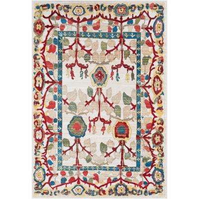 Articlave Cream 3 ft. x 5 ft. Area Rug