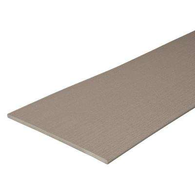 Paramount 1/2 in. x 11-3/4 in. x 12 ft. Sand Capped Cellular Fascia PVC Decking Board (24-Pack)