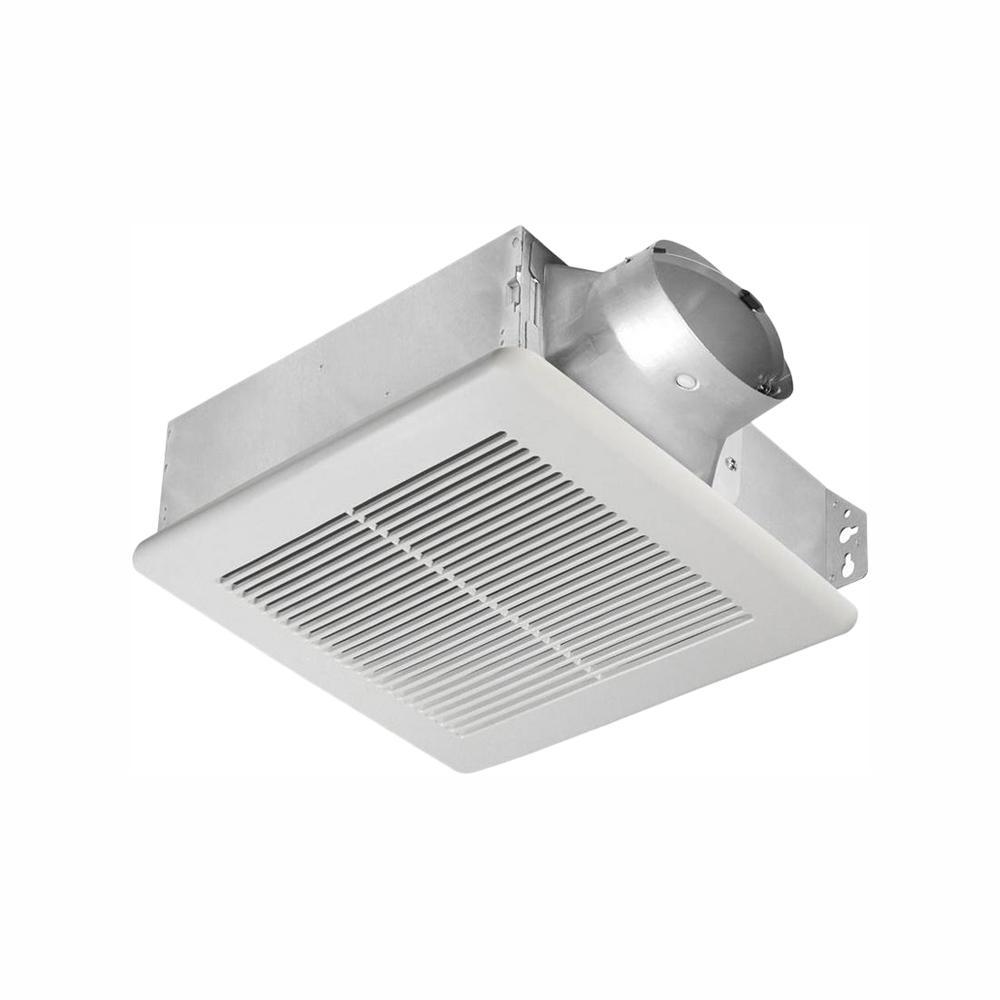 Delta Breez Slim Series 100 CFM Ceiling or Wall Bathroom Exhaust Fan, ENERGY STAR